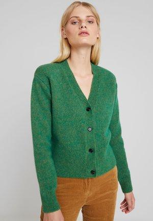 PATRICIA CARDIGAN - Kofta - green