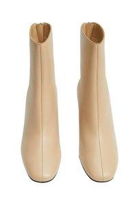 Mango - COMFY - Classic ankle boots - ecru - 3