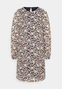 Marc O'Polo - DRESS EASY SHORT STYLE ROUND NECK - Denní šaty - multi - 0