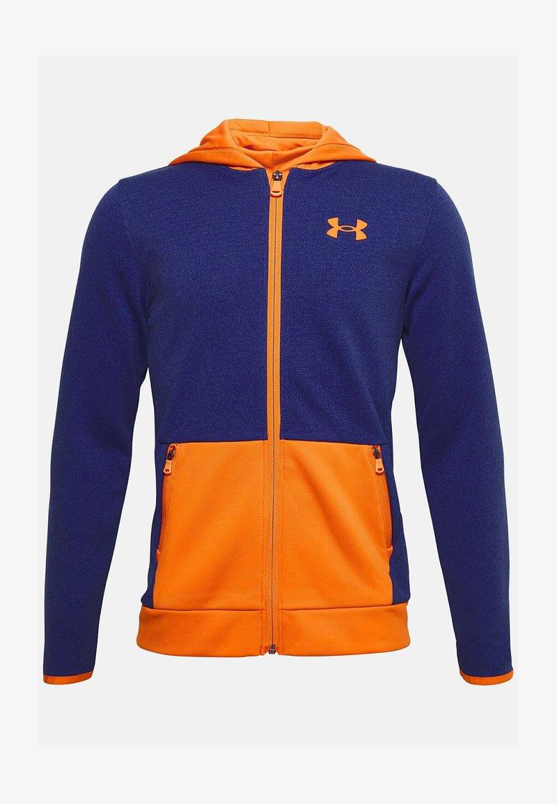 Under Armour - Zip-up hoodie - smalt blue