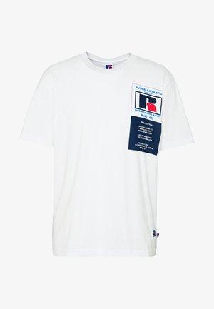 SCOTT - T-Shirt print - white