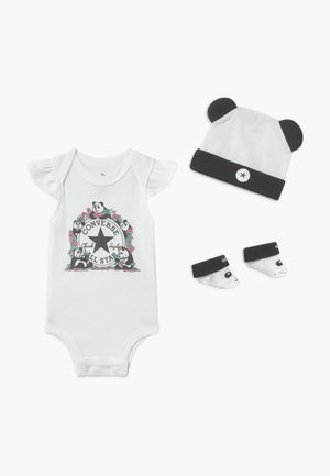 PANDAMONIUM INFANT SET - Regalo per nascita - white