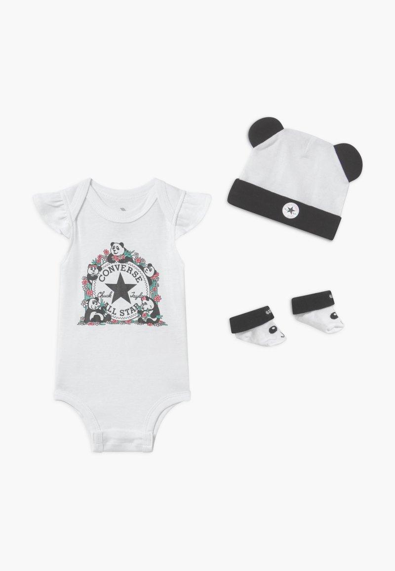 Converse - PANDAMONIUM INFANT SET - Regalo per nascita - white