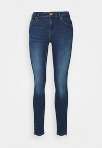 ONLY - ONLKENDELL LIFE ANKLE - Jeans Skinny Fit - dark blue denim - 5