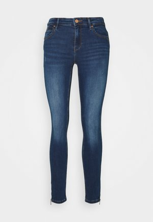 ONLKENDELL LIFE ANKLE - Skinny džíny - dark blue denim