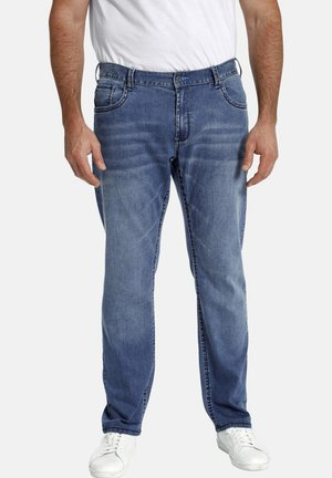 BARON SAWYER - Straight leg jeans - blau