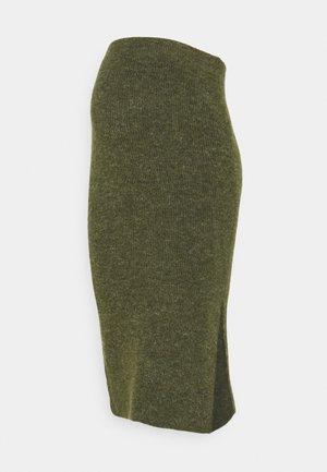 PCMFANNA SKIRT - Pencil skirt - winter moss