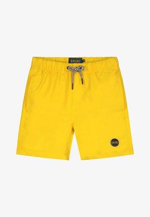 Swimming shorts - oker sunshine yellow