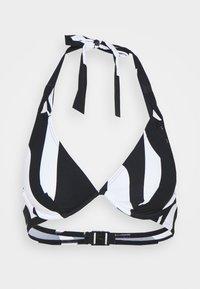 LIDO BEACH FLEXIWIRE - Bikini top - black