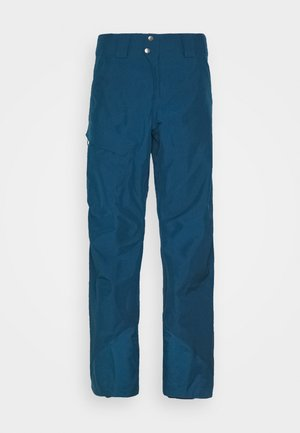 POWDER BOWL PANTS - Talvihousut - crater blue