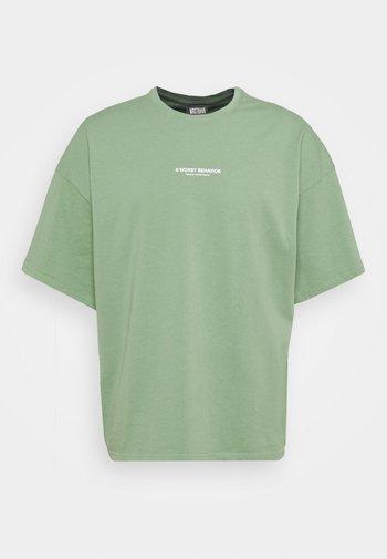 WASHED UNISEX - T-shirt - bas - green