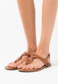 Madden Girl - ARIAA - T-bar sandals - cognac paris - 0