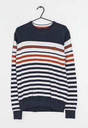 Stickad tröja - multi-colored
