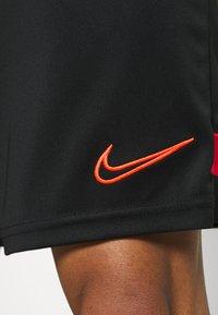 Nike Performance - SHORT - Sports shorts - black/bright crimson - 3