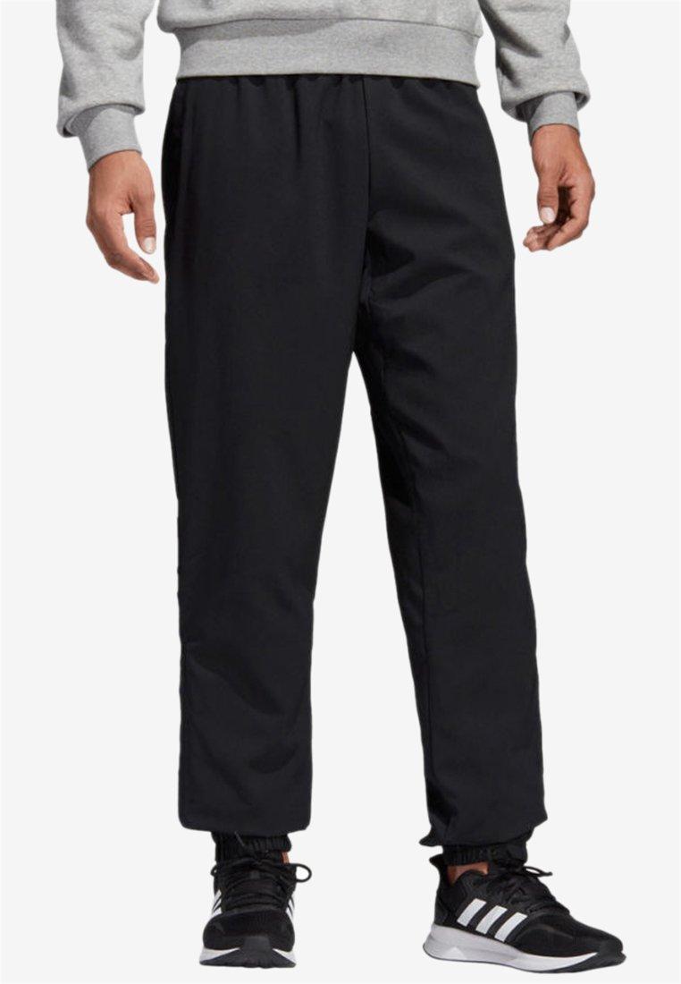 adidas Performance - ESSENTIALS PLAIN STANFORD TROUSERS - Spodnie treningowe - black