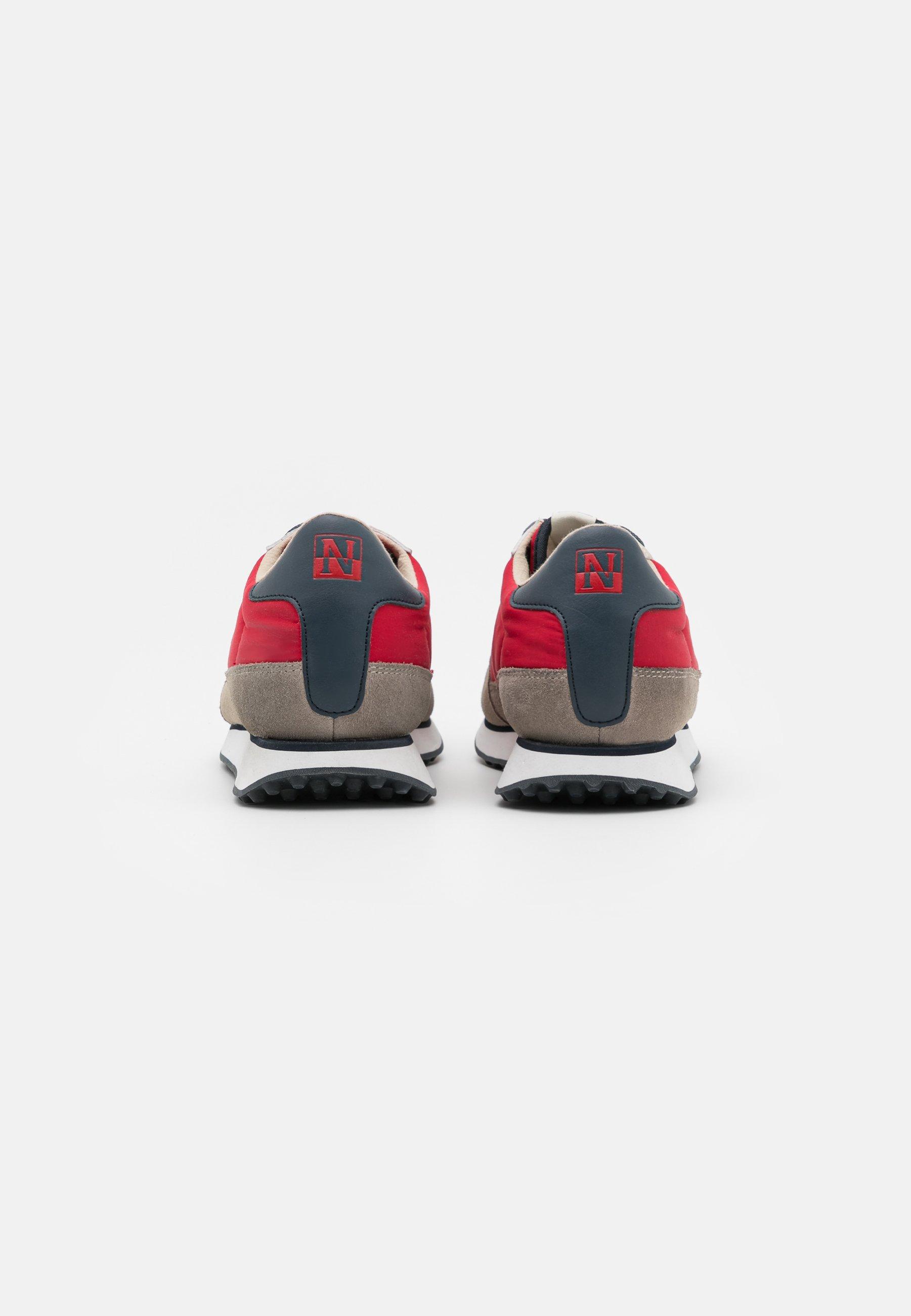 Napapijri Sneaker low - bright red/rot - Herrenschuhe 6l5Wa