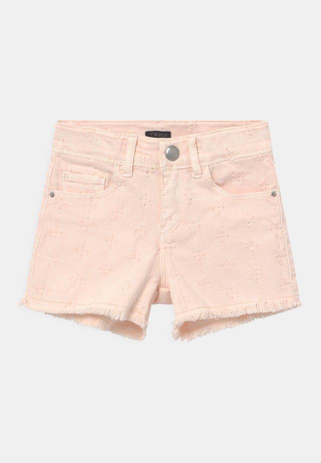 Jeans Short / cowboy shorts - rose pâle