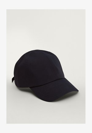 MIT STEPPNÄHTEN  - Cap - blue-black denim
