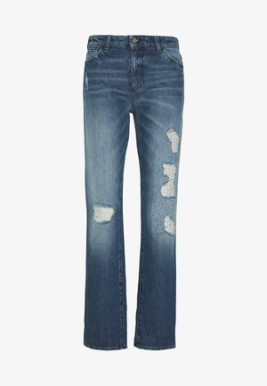 POCKETS PANT - Relaxed fit jeans - blue denim