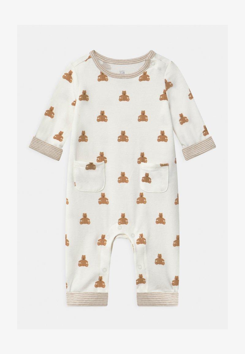GAP - BEAR UNISEX - Pyjama - ivory frost