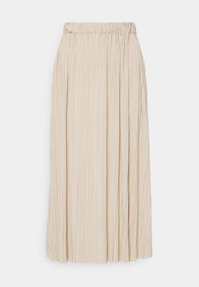 UMA SKIRT - Pleated skirt - quicksand