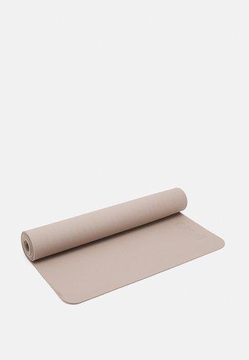 EXERCISE MAT BALANCE 4MM  - Kuntoilutarvikkeet - taupe grey