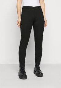 Even&Odd Petite - 5 pockets PUNTO trousers - Bukse - black - 0