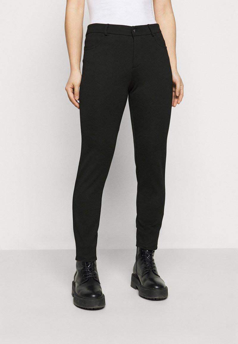 Even&Odd Petite - 5 pockets PUNTO trousers - Bukse - black