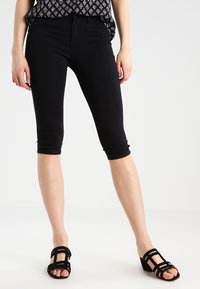ONLY - ONLRAIN - Denim shorts - black - 0