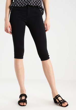 ONLRAIN - Denim shorts - black