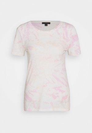 VINTAGE CREWNECK TIE DYE - T-shirts print - peach/pink