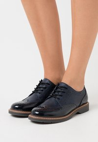 s.Oliver - Lace-ups - navy - 0
