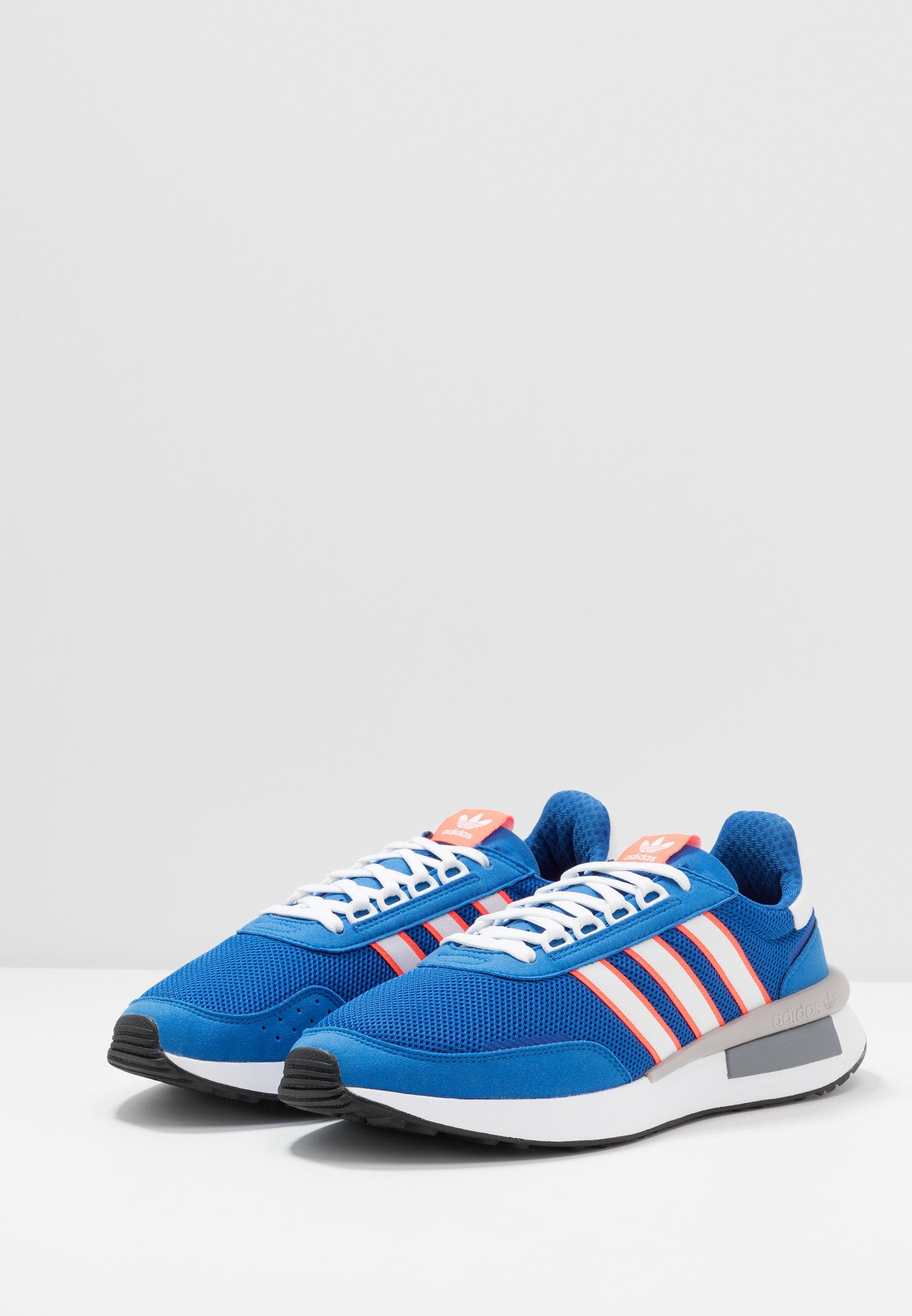 adidas Originals RETROSET - Sneaker low - blue/footwear white/solar red/blau - Herrenschuhe l68Wz