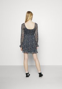 Hollister Co. - SHORT DRESS - Kjole - dark blue - 2