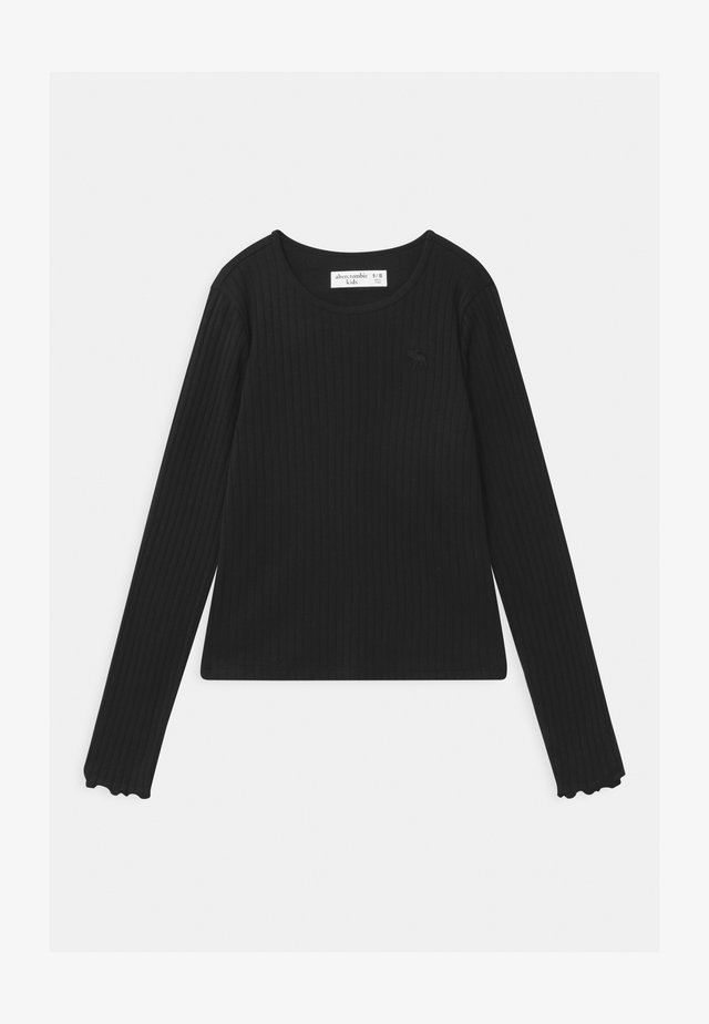 OUTFIT COMPLETER - Long sleeved top - black