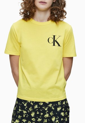 T-shirt con stampa - solar yellow