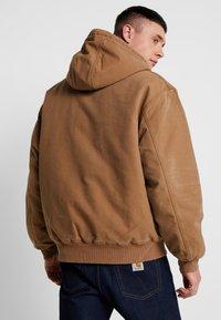 Carhartt WIP - ACTIVE JACKET DEARBORN - Light jacket - hamilton brown aged - 2