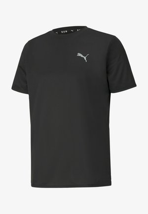 RUN FAVORITE TEE  - T-shirt print - puma black