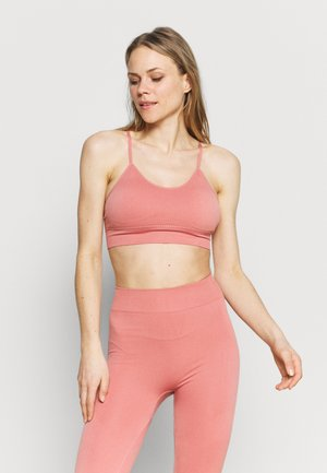 ELIANA - Light support sports bra - dark pink