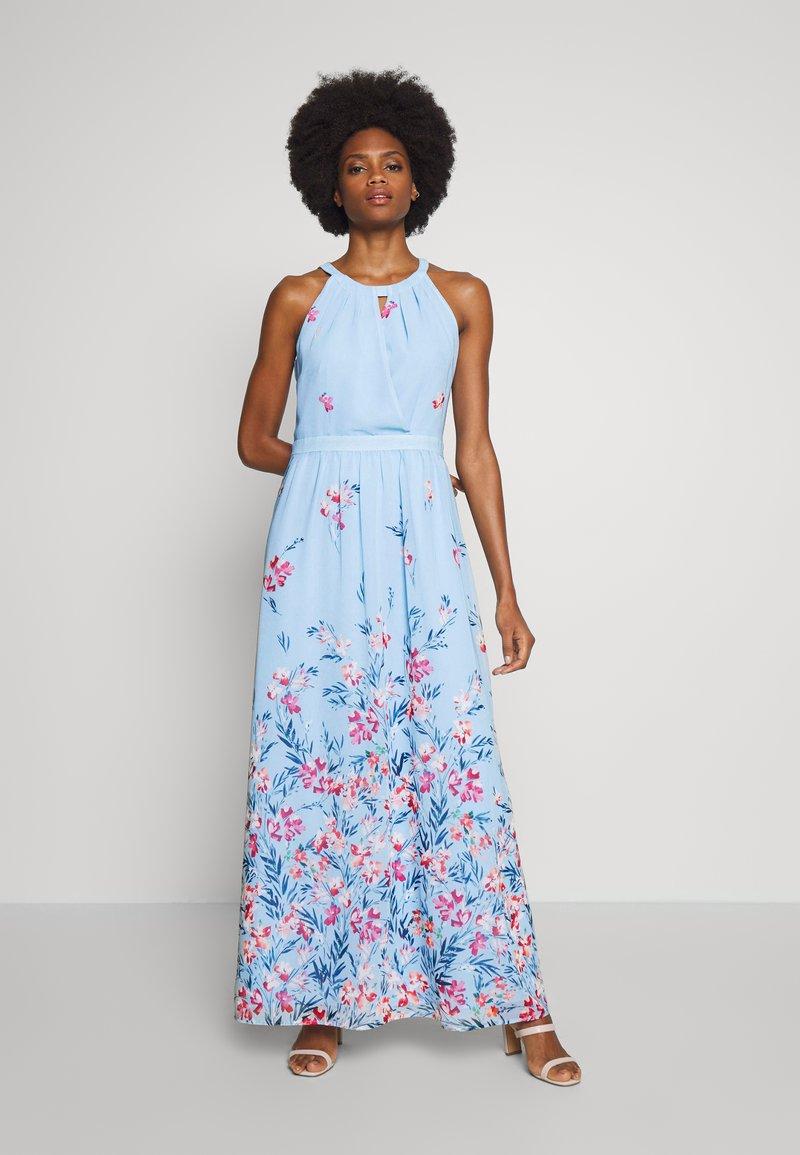Esprit Collection - FLUENT GEORGE - Maxikleid - pastel blue