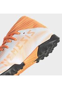adidas Performance - NEMEZIZ .3 TURF - Astro turf trainers - ftwwht/cblack/scrora - 10