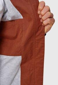 INDICODE JEANS - FLEMMING - Light jacket - rootbeer - 4