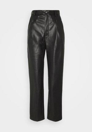 NMCHIKA ANKEL PANTS  - Trousers - black