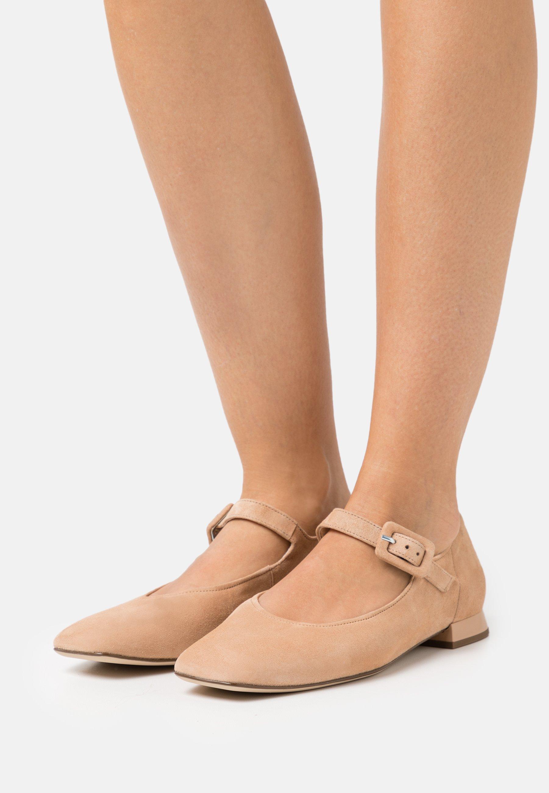 Women DUCKY - Ankle strap ballet pumps