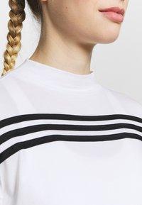 adidas Performance - Topper langermet - white/black - 6