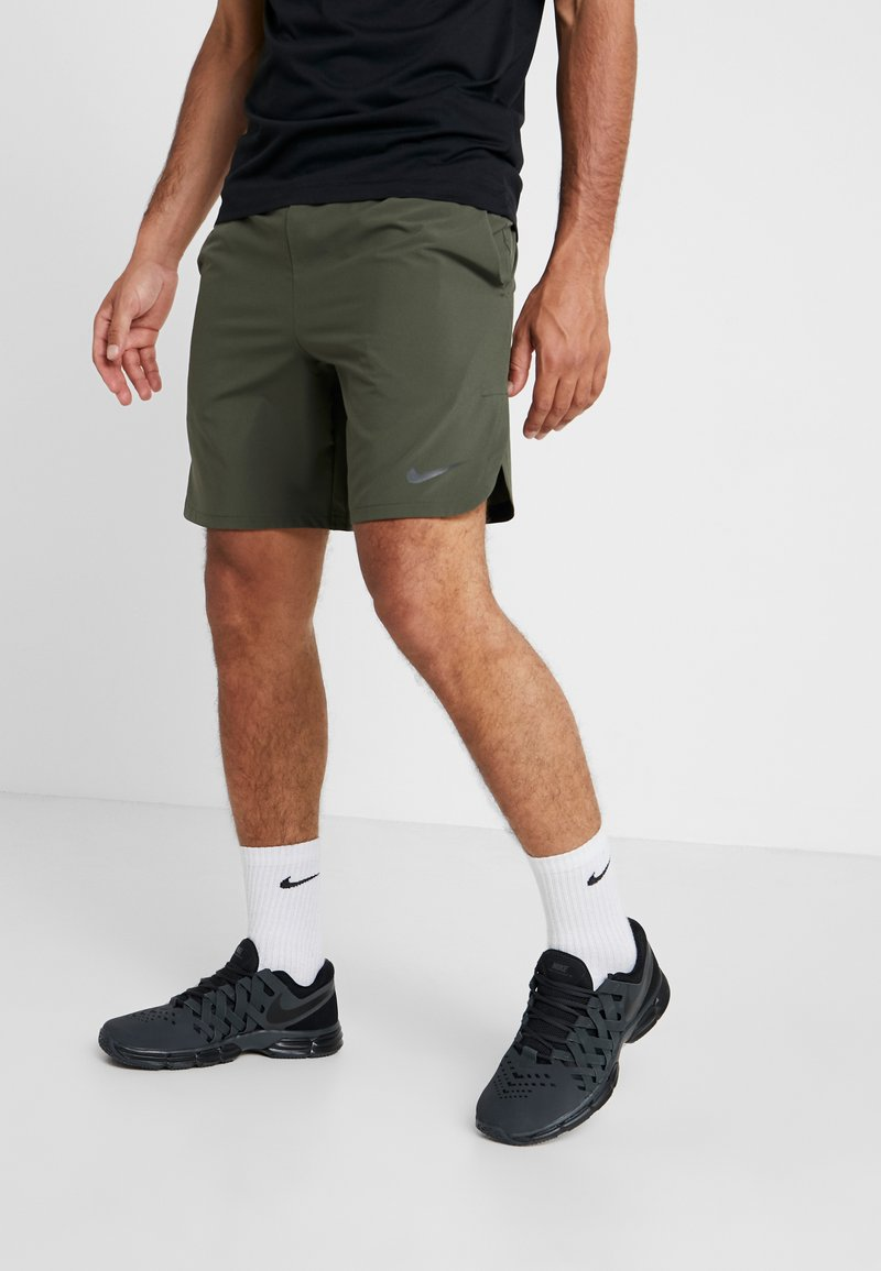 Nike Performance - VENT MAX - Sports shorts - cargo khaki/black
