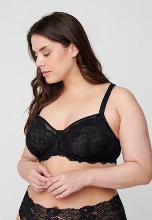FLEUR BH - Underwired bra - black
