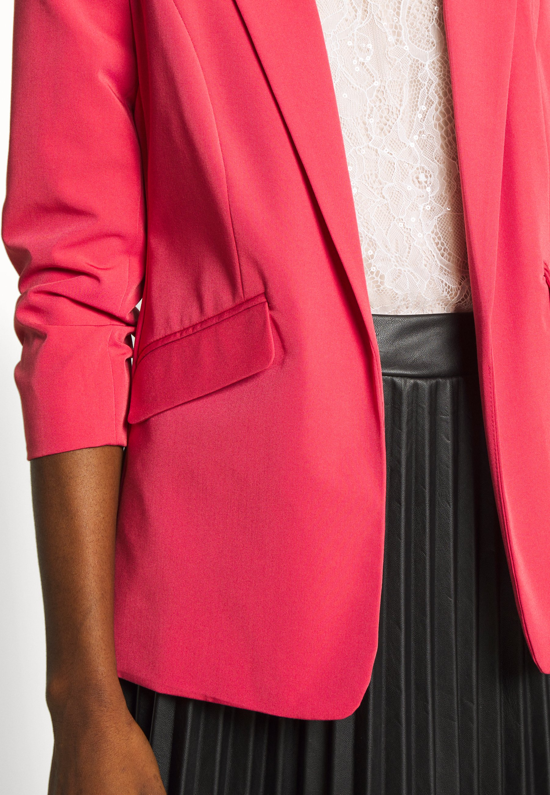 Dorothy Perkins EDGE TO EDGE JACKET - Blazer - pink
