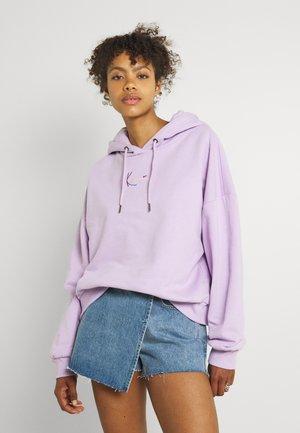 SMALL SIGNATURE HOODIE - Sweatshirt - lilac