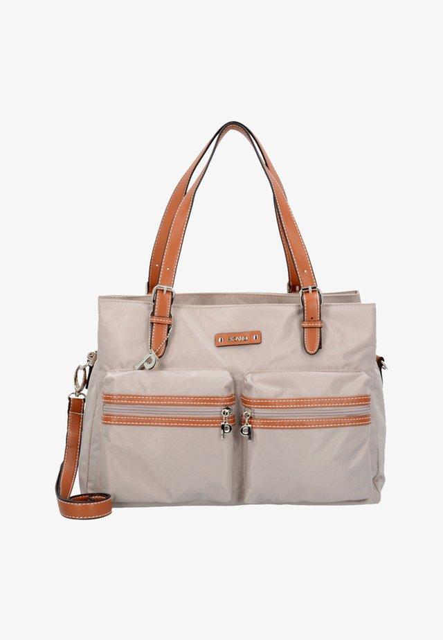 SONJA SCHULTERTASCHE 36 CM - Handtasche - beige